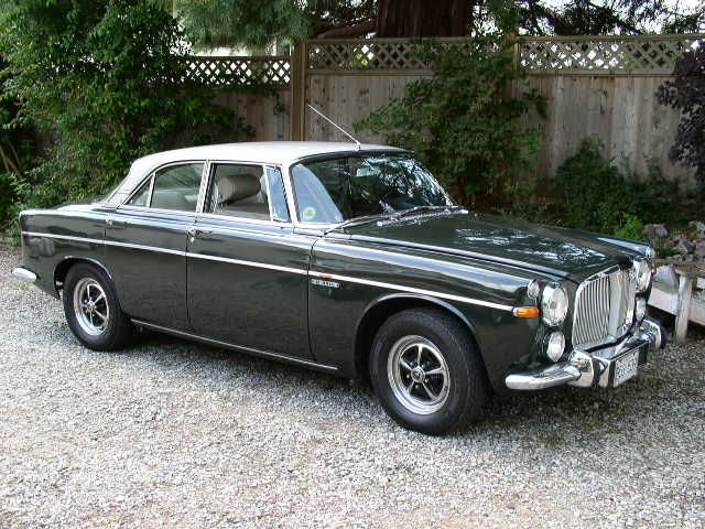 Audi's inspiration: The Rover P5B Coupe