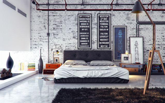 Si tenemos la suerte de tener un espacio grande para vivir (un loft o una nave cualquiera ;-) podemos decorar toda la casa en estilo industrial. En estos casos, el dormitorio principal suele formar parte de todo el conjunto, ya que la ausencia de tabiques es una de las características de este estilo. No obstante, …