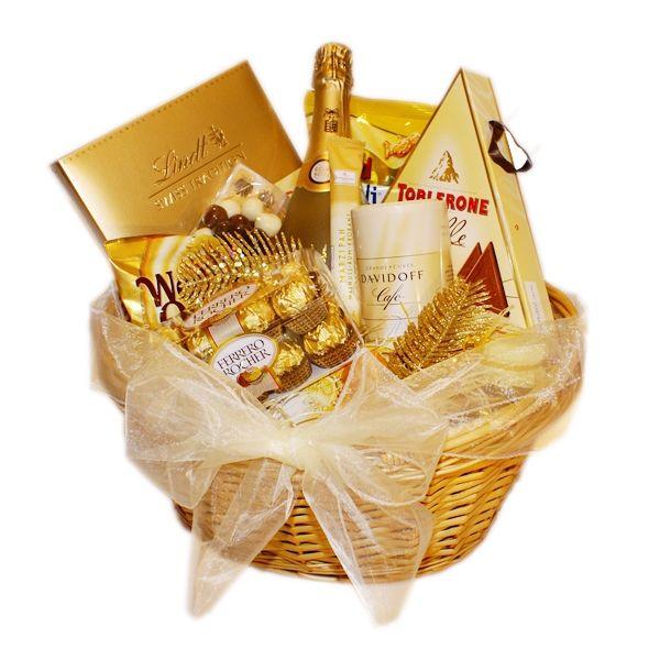Darčekový kôš Golden