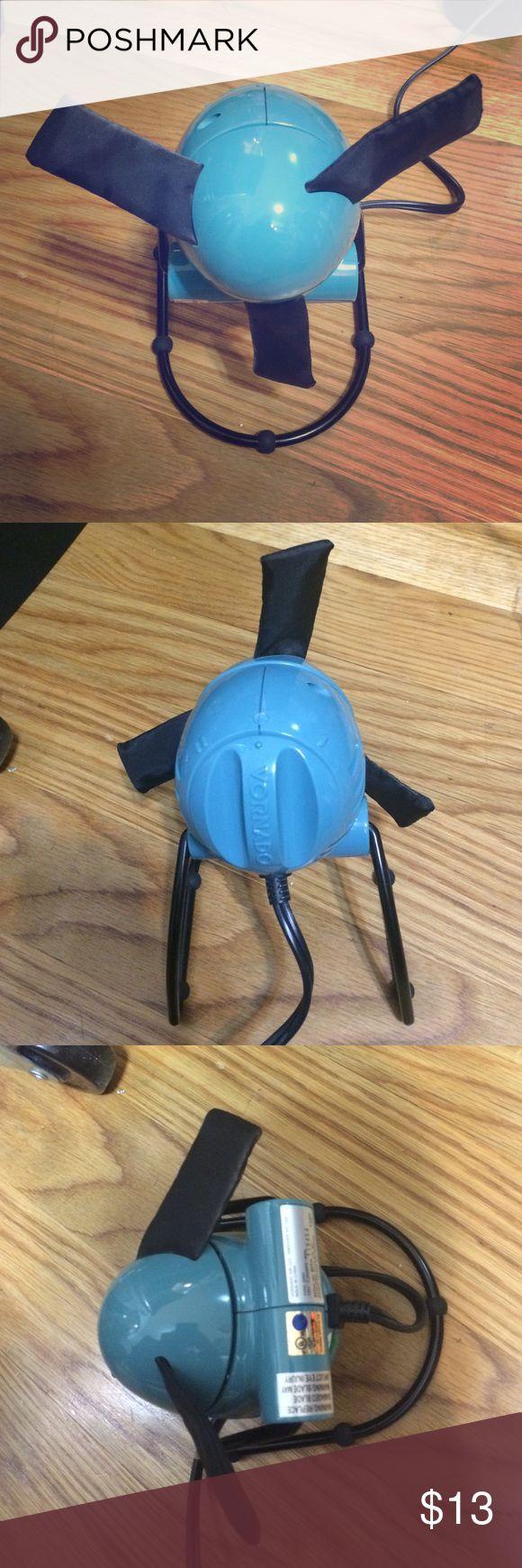 Vornado desk fan blue like new Vornado desk fan Foam blades, cute small desk fan 2 power settings like new Vornado Other