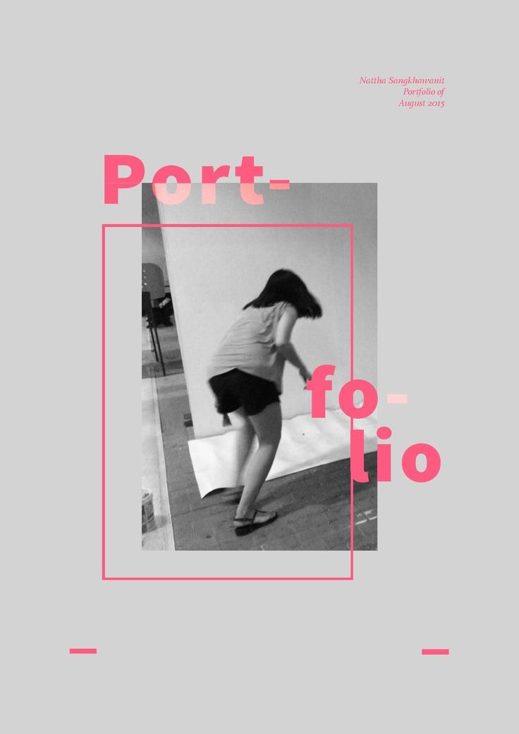 25 best Portfolio design ideas on Pinterest  Portfolio layout Design portfolio layout and