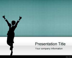 striving success PowerPoint template - success ppt template