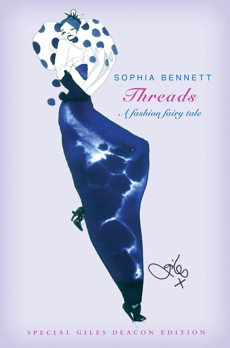 My very own piece of Giles Deacon design (see Pippa Middleton's superchic wedding dress). The original hardback cover of Threads
