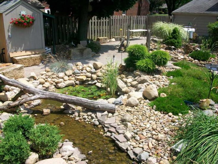 The 25 Best River Rock Landscaping Ideas On Pinterest