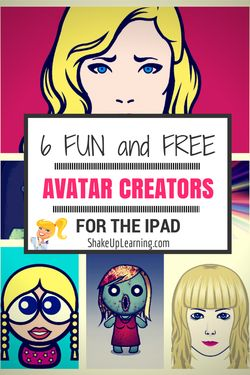 6 Fun and FREE Avatar Creators for the iPad | Shake Up Learning Blog | www.shakeuplearning.com #ipaded #ipadapps #gamification