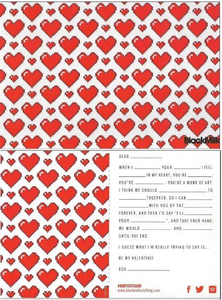 47. Love Ya Bits White (Valentines Day 2015)