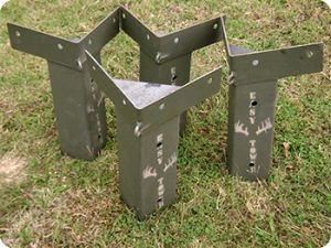 E-Z Tower Deer Blind Brackets