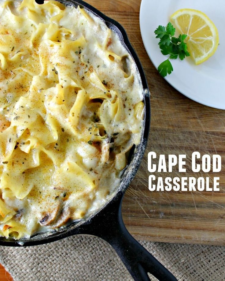 This easy seafood casserole recipe is one of my most requested family favorite recipes. If you're looking for something special during Lent, this is it.