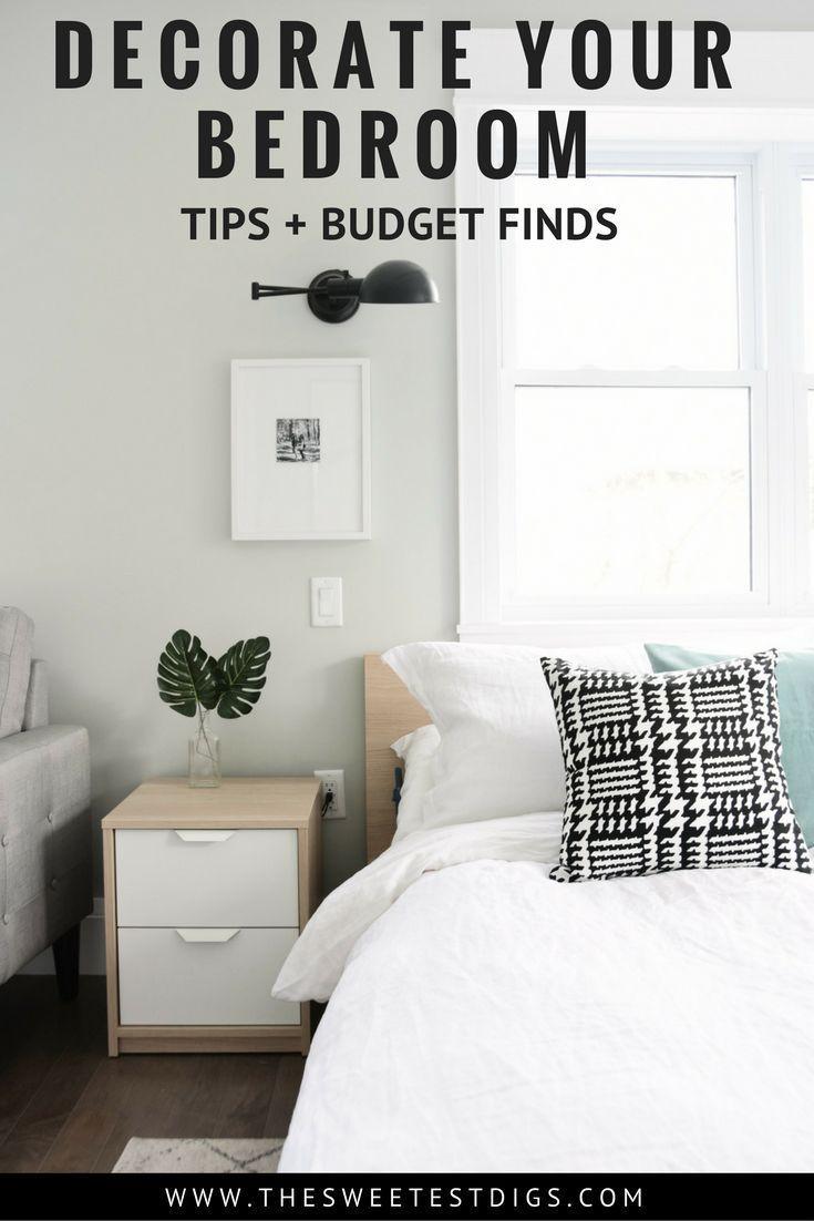 Diy master bedroom makeover - A Budget Friendly Master Bedroom Makeover Get This Neutral Eclectic Modern Bedroom