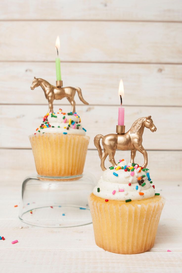 Gold Horse Candle Holder Equestrian Candle Holder Kids