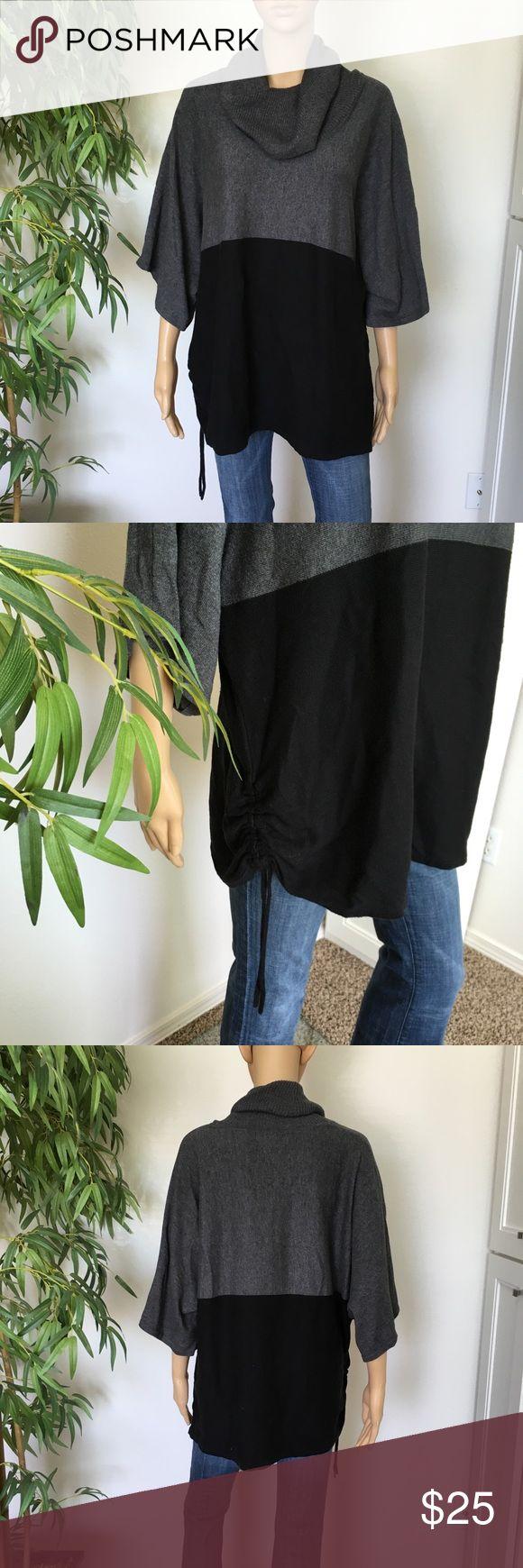 Karen Scott Sweater Cowl Neck size 2X EUC like new Cowl neck style sweater size 2X from Karen Scott Karen Scott Sweaters