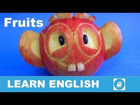Learn English Vocabulary - Fruits 2 - E ANGOL