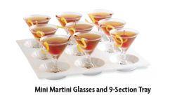 mini martini glasses - must have!
