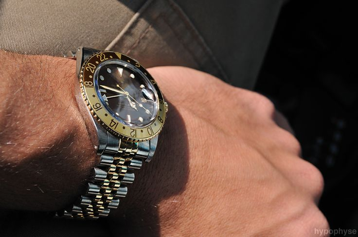 Image result for rolex gmt master root beer nipple dial