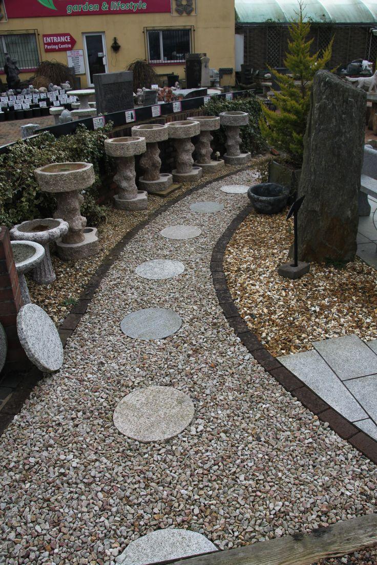 Grey Garden Stones
