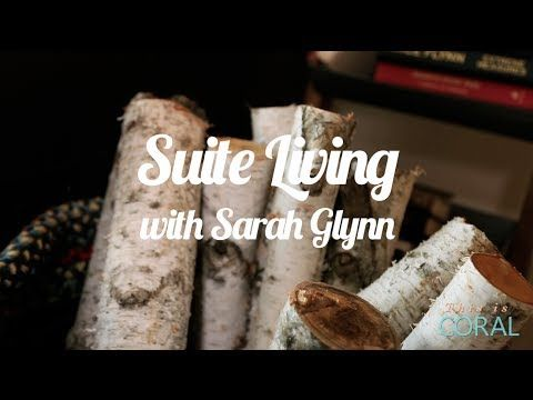 Suite Living: Cozy Cabin Decor! Warm up your space by adding some cozy touches!