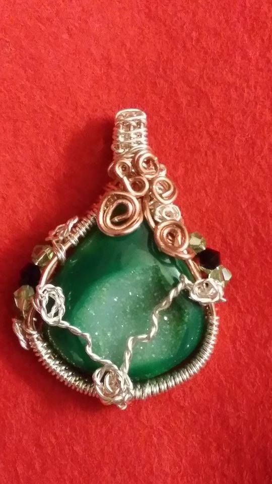 Mother Earth Wire Wrapped Druzy