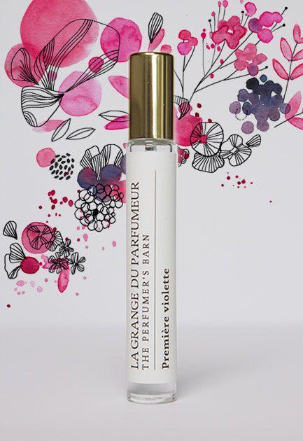 lagrangeduparfumeur.com Première Violette - Cologne 1245 [Violette & Baies]  #cologne #parfum #naturalbeauty #faitauquebec #parfumerie #cecilehudrisier