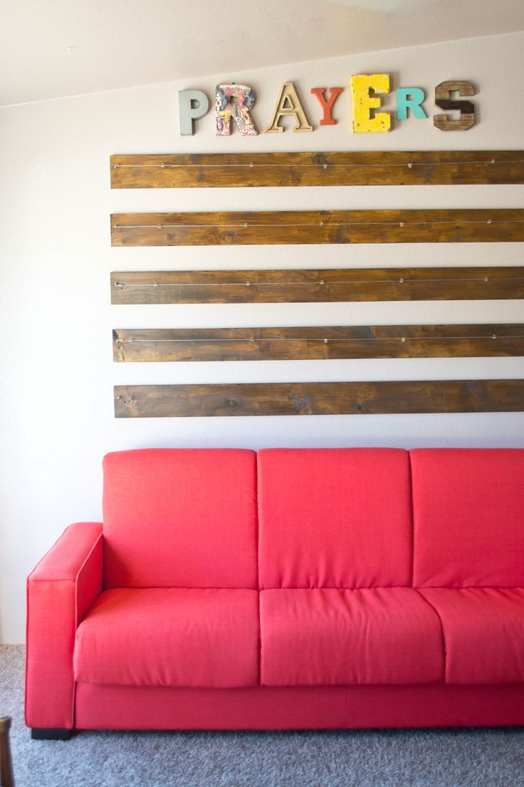 A Super Easy To Do DIY Prayer Wall Just Few Planks And