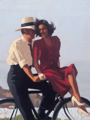 Lazy Hazy Days-Jack Vettriano