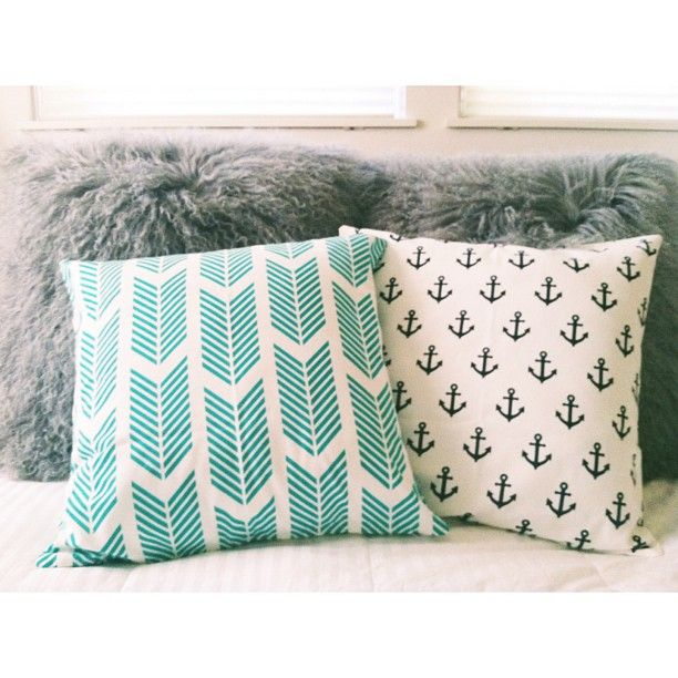 We also love these fun pillow covers from @Waiting On Martha!