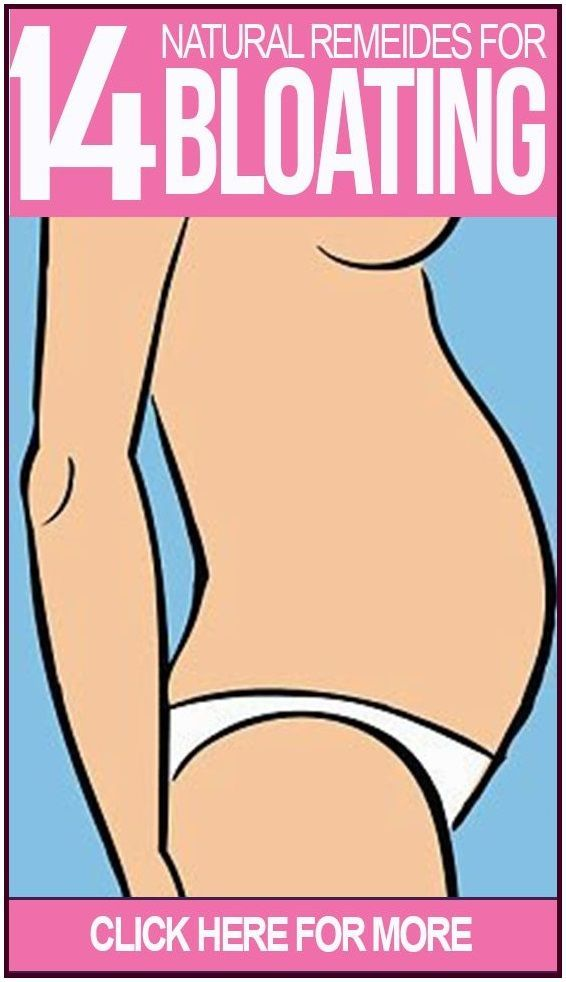 Natural Remedies For Getting Rid Of Bloating