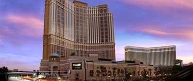 Hotel Palazzo and casino. Las vegas-   All suite, five diamond Las Vegas Hotel.