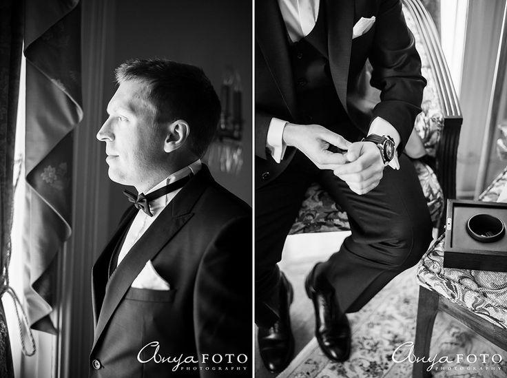 AnyaFoto | NJ Wedding Photographer | Groomwear | Black and White