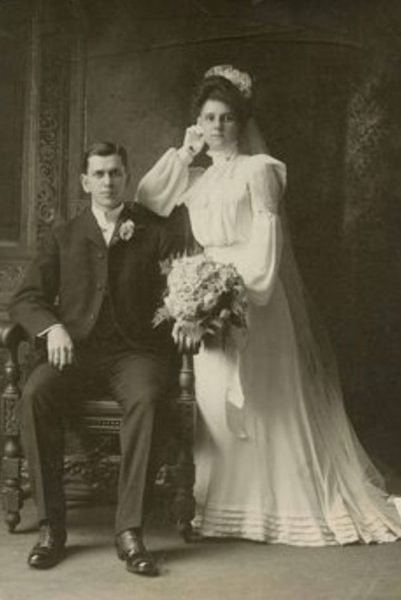 Adrianna (Kozak) Ott and Marek Ott 1894