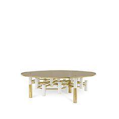 Konstantin Center Table | Essential Home | Mid Century Furniture