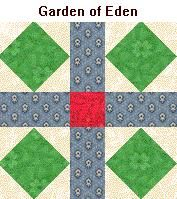 1000 images about biblical quilt bible quilt blocks on for Garden of eden xml design pattern