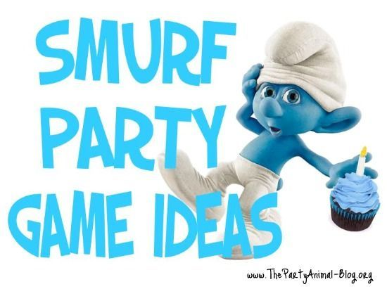 Smurf Party Game Ideas