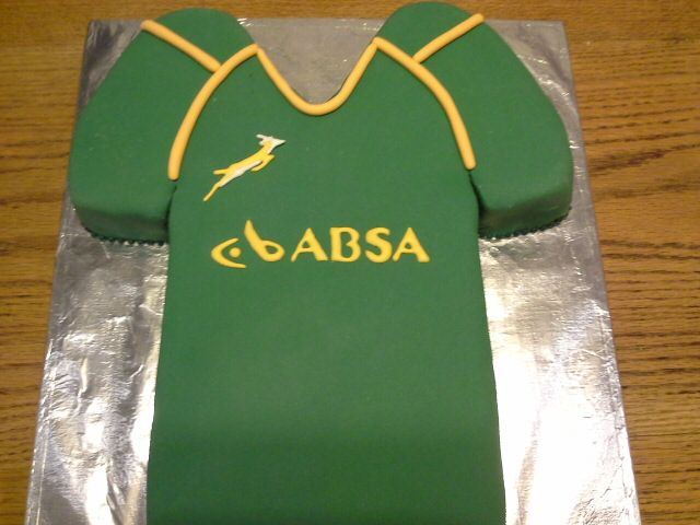 Springbok rugby jersey