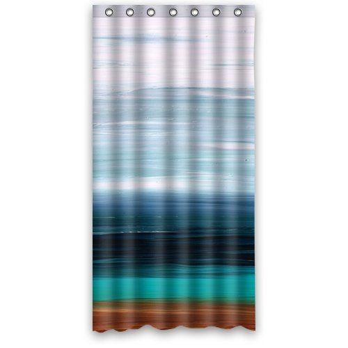 black and turquoise shower curtain. Hipster White Black Aqua Brown Landcape Sky Gray Soothing and Calm Shore  Polyester Fabric Waterproof Shower 80 best shower curtain images on Pinterest curtains