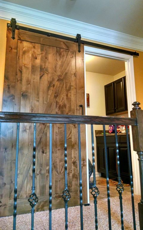 Rustic Sliding Barn Door Barn And Vintage Doors Pinterest Sliding Barn Doors Rustic And Doors