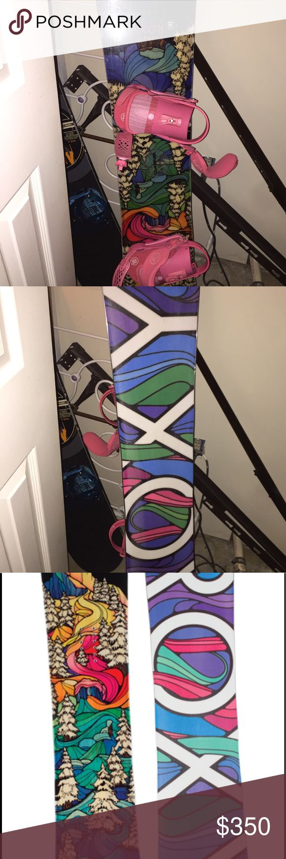 Roxy snowboard Size 148 roxy c2 btx snowboard 2016/17. Used for only one season still in very good condition. Freshly sharpened and waxed. Bindings not included. Roxy Other