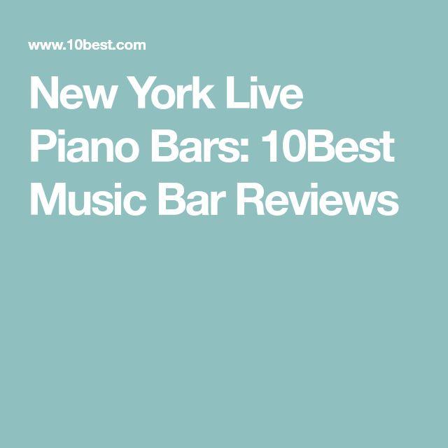 New York Live Piano Bars: 10Best Music Bar Reviews