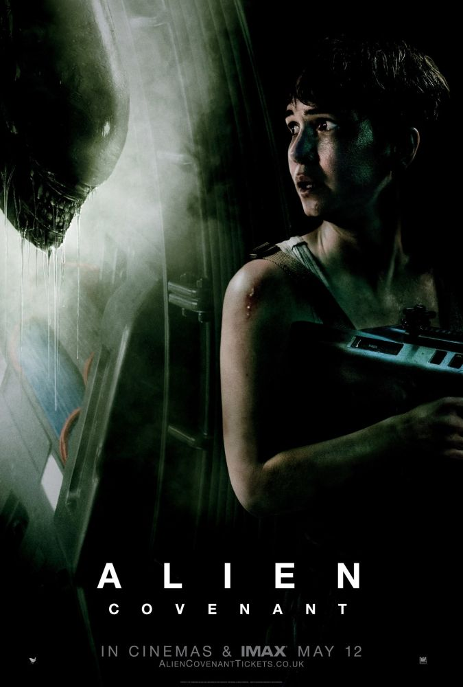 #RidleyScott returns to the universe he created, with #AlienCovenant. The crew of the ship Covenant uncovers a threat beyond their imagination and must attempt a harrowing escape. #SciFi #Horror
