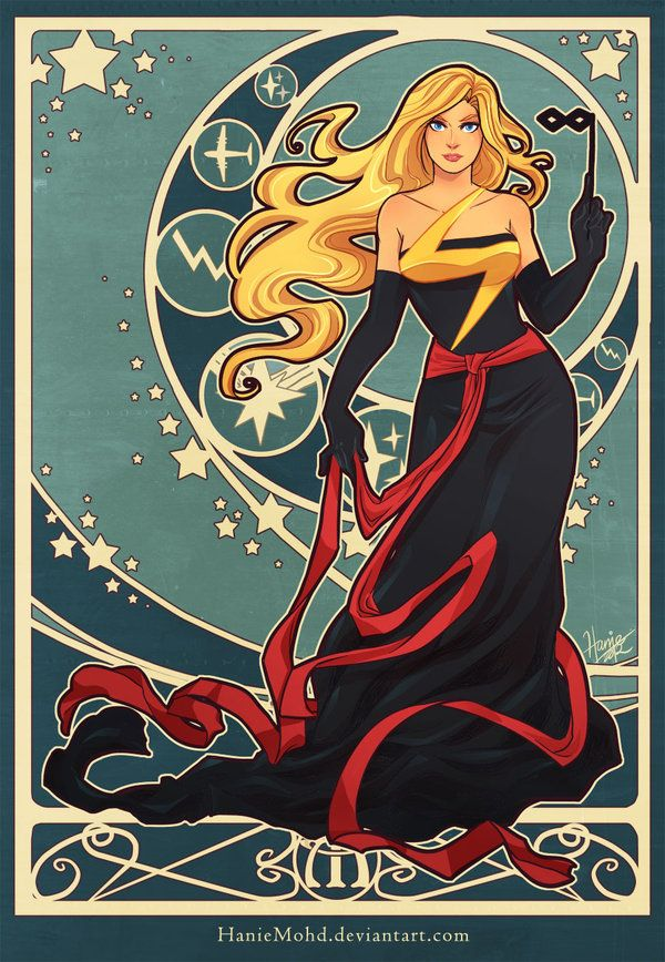 Marvelous Ms Marvel by *HanieMohd on deviantART