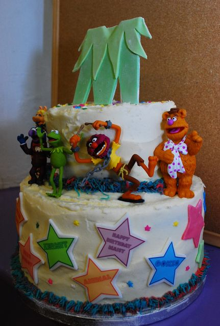 Muppets Party Cake muppets cake for dora!!