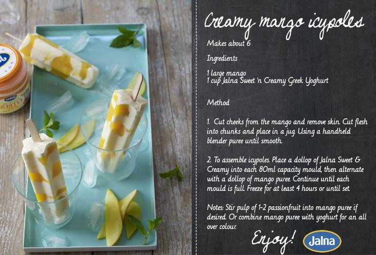 The taste of summer #jalna #yoghurt