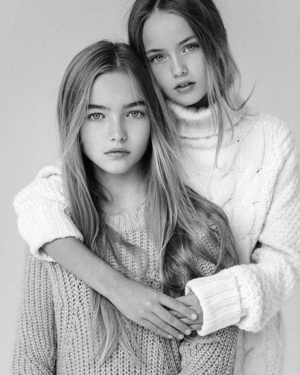«Две самые красивые девочки в мире» похожи как сёстры