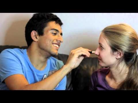 MY BOYFRIEND DOES MY MAKEUP | MON COPAIN ME MAQUILLE ! - YouTube