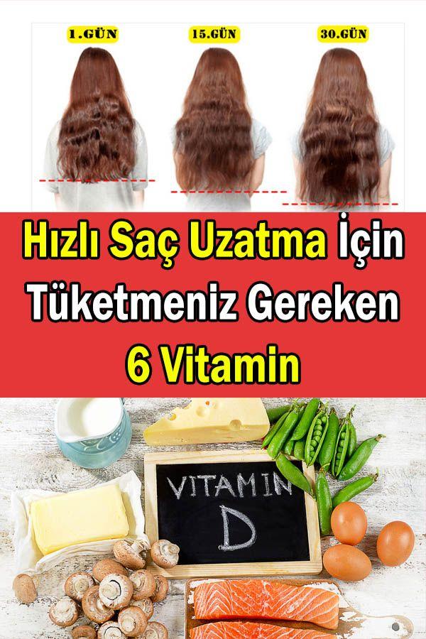 Hizli Sac Uzatmak Icin Tuketmeniz Gereken 6 Vitamin Goruntuler