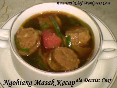 Tasty Culinary: NGOHIONG MASAK KECAP
