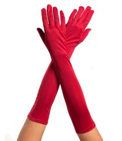 Γάντια Μακριά Κόκκινα