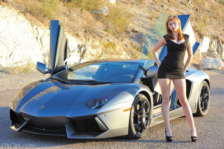 Lamborghini Aventador Girls | Autos y chicas | Cars ...
