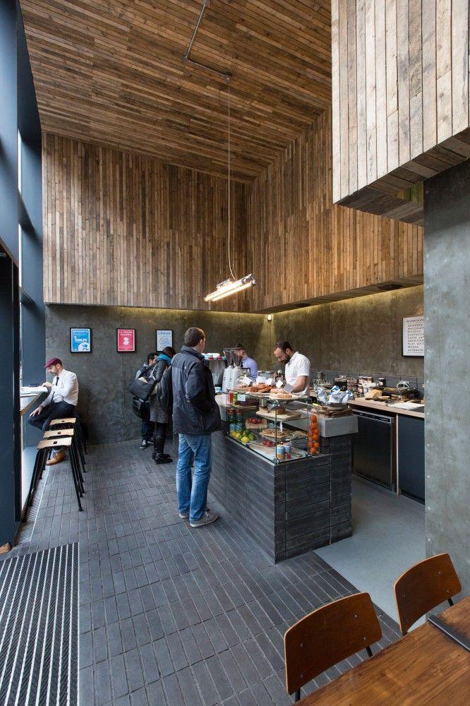 Laboratorio Espresso (2013)  in Glasgow, UK. Architects: DO-Architecture    Year: 2013 Photographs: John Wood Photowork