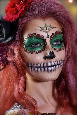 La Calavera Catrina ~ Mama Make Up, Makeup & Hair Artist Helsinki, Finland ~