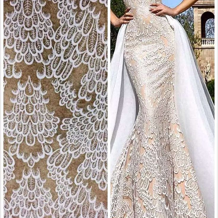 Cute Elegent wedding dress fabric embroidery lace fashion fabric guipure bridal lace fabric by on Etsy